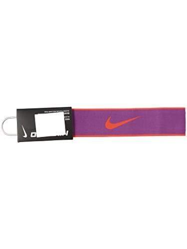 Nike Women's Pro Swoosh 2.0 Headband Cosmic Purple by NIKE