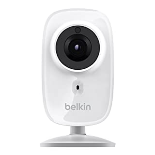 Belkin NetCam HD+ Wi-Fi enabled Camera works with WeMo, includes Night Vision, All Glass Wide Angle Lens, and Infrared Cut-off Filter (B00KNM763E) | Amazon price tracker / tracking, Amazon price history charts, Amazon price watches, Amazon price drop alerts
