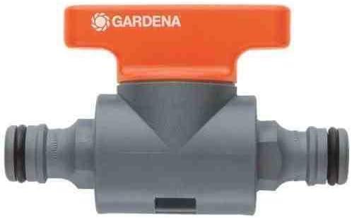 Gardena jardín al aire libre flujo de la manguera del grifo de ajuste de la válvula de agua de riego de jardín: Amazon.es: Jardín