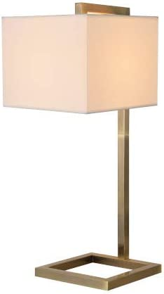 Kenroy Zuhause Kenroy 21079Ab ein Licht Table Lamp 13.75 Inches, Antique Brass