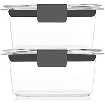Amazon Com Rubbermaid Brilliance Food Storage Container