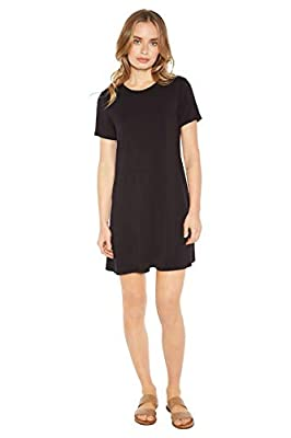 Rohb by Joyce Azria Cannes Short Sleeve Crew Neck Dress