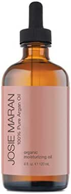 Josie Maran 100% Pure Argan Oil - Organic and Natural Oil that Nourishes, Conditions, and Heals (120 ml/4 oz, Luxury Size)