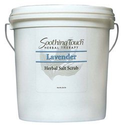 Salt Scrub, Soothing Touch Lavender, 2 Gallon by Soothing Touch