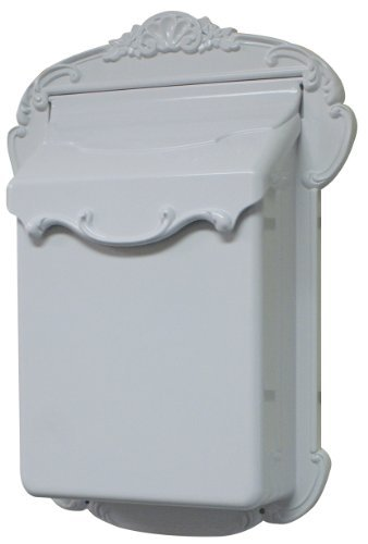 Special Lite Products SVV-1013-WH Victoria Vertical Mailbox, White