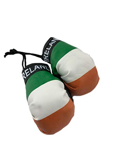 Red Hat Ent Hanging Car Mirror Mini Boxing Gloves