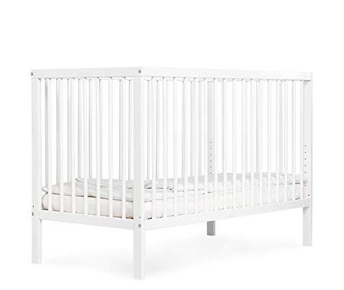 Kinderbett Babybett Kombi-Kinderbett moKee weiss /ökologisch