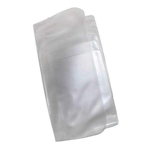 Buxton Unisex Vinyl Window Inserts for Secretary or Checkbook Wallet, Pack of 3, Clear