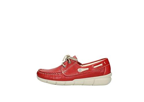 lacci Cahita Scarpe con Rot 01509 70570 Leder Sommer Wolky Comfort 4WWwfFxv5q