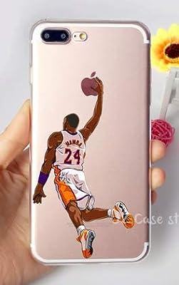 Art Design Funda para iPhone 7+ Plus/iPhone 8+ Plus Kobe Bryant ...