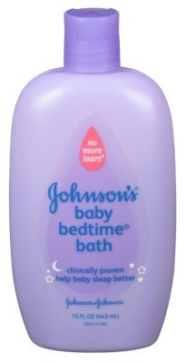 Johnson & Johnson Johnson's Baby Bedtime Bubble Bath & Wash, 15-Fluid Ounces Bottles