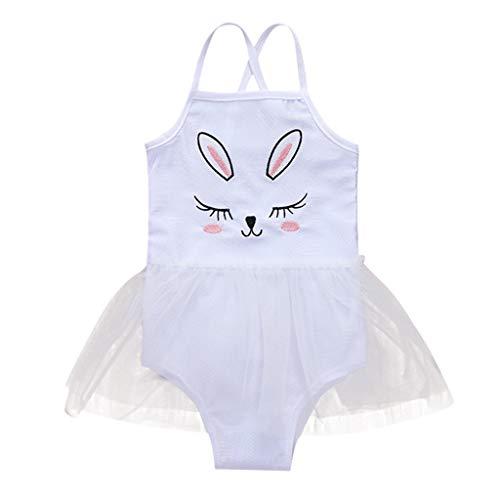 Niñas Bikini De Conjunto Verano Zarlle Baño Pieza Traje Ropa Niñitas Bañador Un Estampado Blancoe Para Niña Bebé 7xPffv