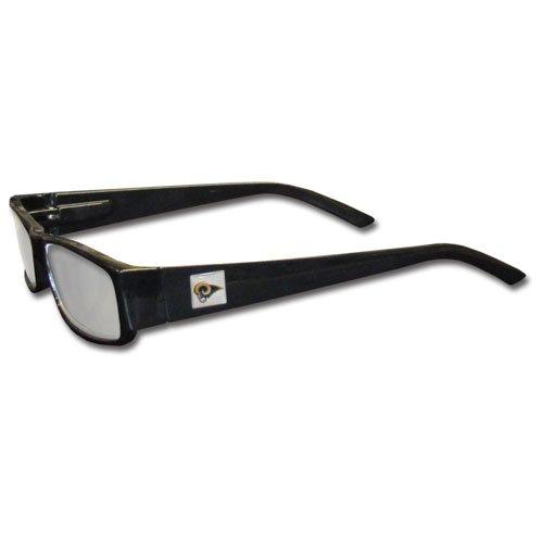 NFL St. Louis Rams Reading +1.75 Glasses, Black by Siskiyou