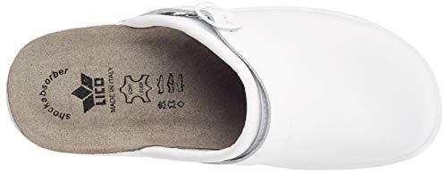 Bianco Lico Classic Weiß Uomo Pantofole Clog Man znUw7Pq