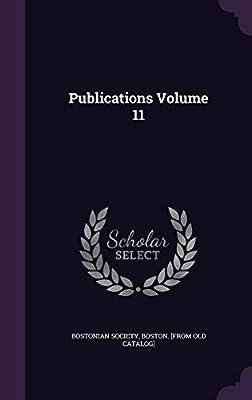 Publications Volume 11