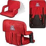 NCAA Arizona Wildcats Ventura Portable Reclining Seat, Red