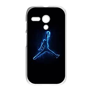 Motorola G Cell Phone Case White Jordan logo Phone cover J9735976