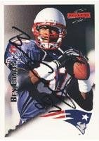 Ben Coates New England Patriots 1995 Score Autographed Card. This item comes with a certificate of authenticity from Autograph-Sports. Autographed from Sports Memorabilia