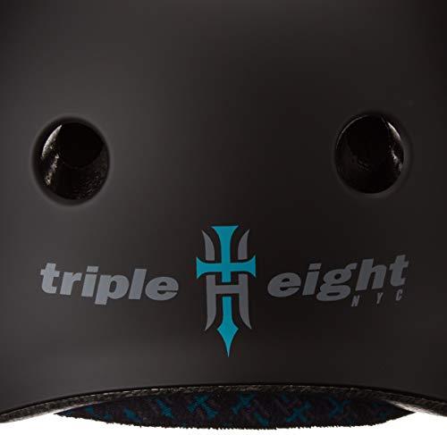 Triple Eight Tony Hawk Signature Model The Certified Sweatsaver Helmet for Skateboarding, BMX, and Roller Skating, X-Small/Small by Triple Eight (Image #3)