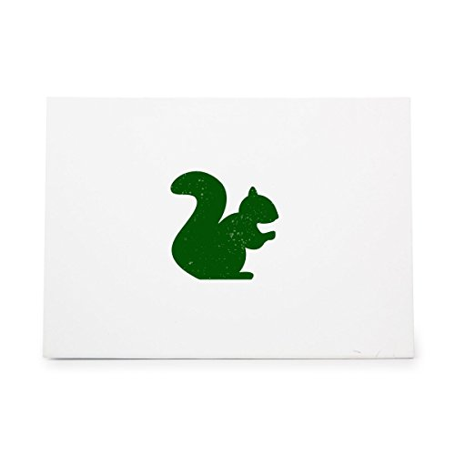 Squirrel Animal Fall Nature Nuts Style 3428, Rubber Stamp Shape great for Scrapbooking, Crafts, Card Making, Ink Stamping Crafts