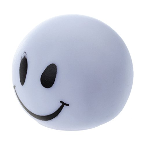 SODIAL Cute Smiley-Face Color Changing LED Lamp Decoration Night Light]()