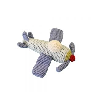Zubels Lil Dimple Airplane Rattle
