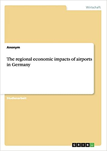 The regional economic impacts of airports in Germany