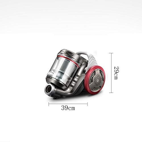 Aspirapolvere, Mini Tappeto Elettrico a Potenza Regolabile for Uso Domestico Muto Portatile Nessun Materiale di consumo Risparmio energetico, Grigio (39x25x29cm) Lostgaming