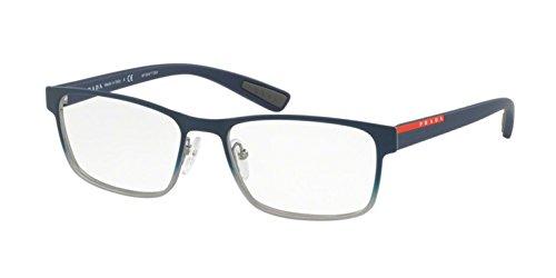 139fbcb8a2 Prada Linea Rossa Men s PS 50GV Eyeglasses Blue Gradient 55mm