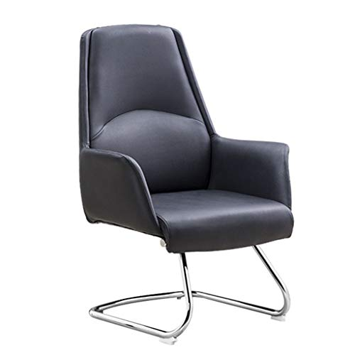 Chairs,Offce Chair President Chair Executive Chair Chairs Designer Chair Lifting Reclining Household Office Swivel Chair Modern Simple WEIYV (Color : Black, Size : 46104cm)