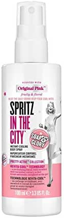 Soap & Glory Spritz In The City Instant-Cooling Body Spray - 3.3 fl oz, pack of 1