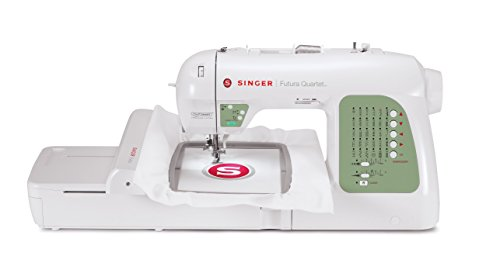 Lowest Price! SINGER SEQS-6000 Futura Quartet Sewing and Embroidery Machine