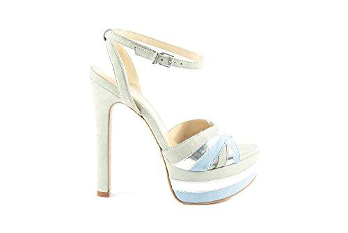Donna Schutz Sandalo D.Platina - 38, CIMET PRATA