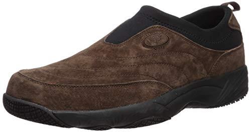 - Propet Men's Wash N Wear Slip On Ii Walking Shoe, sr Brownie/Black, 10 M US