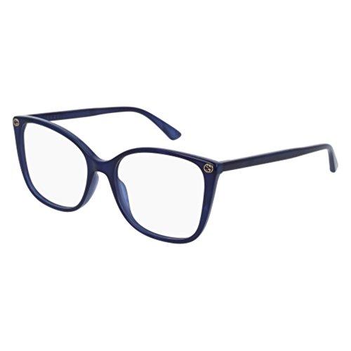Eyeglasses Gucci GG 0026 O- 005 BLUE /