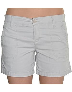 Calvin Klein Jeans Flat Front Shorts, Flight Color, Size 4