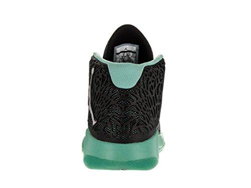 Jordan Herren Ultra.Fly Basketballschuhe Schwarz / Hyper Turq / Reflekt Silber