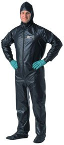 Painter?s Coveralls - X-Large, Black SHO-2003 Shoot Suit Inc.