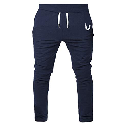 En Pour Pantalon Avec Mode Pas De Homme Homme Long Poches Remise Legging Bellelove Course Forme Casual Élastique Sport Salle Cher Séance Marine Pq5Fq