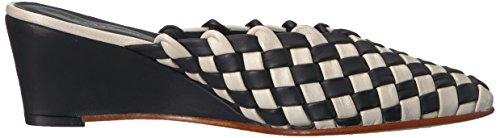 Woven Rachel Women's Check Polished Comey Simone Mule qE7Sp