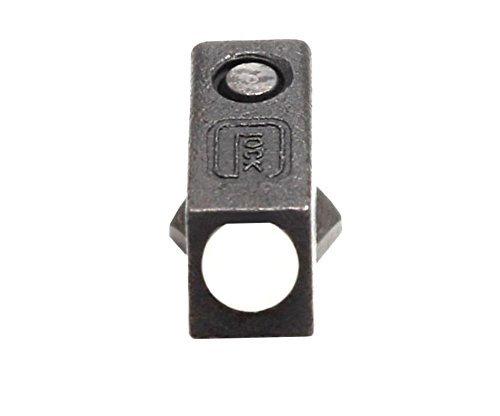 Glock Steel Front Sight White Dot w/ Screw Factory OEM - ALL GLOCKS