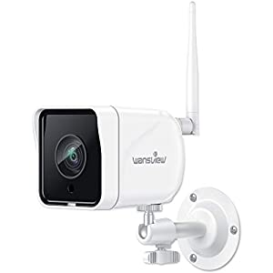 Wansview 防犯カメラ 屋外監視カメラ 1080P 200万画素 WIFI