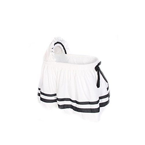 BabyDoll-Lillian-Bassinet-Set-White-and-Black