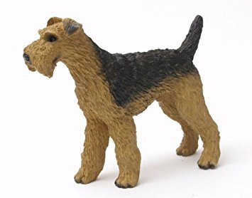 - Airedale Terrier Dog Figurine
