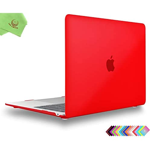 Model A1932//A2179 UESWILL Smooth Matte Hard Shell Case Cover for 2018 2019 2020 MacBook Air 13 inch Retina Display /& Touch ID /& USB-C Midnight Green + Microfibre Cleaning Cloth