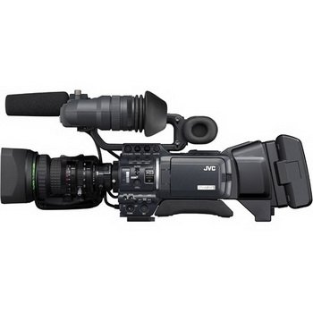 """JVC GY-HD250U 1/3"""" 3-CCD Professional HDV Camcorder Kit with"""