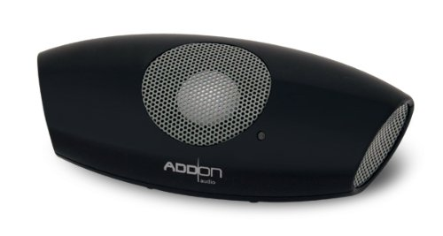Audio3 SoundYou Micro Mini Speaker with Rechargeable Batteries for PC, Mac, iPod, iPhone, MP3, and More (Black) by Audio3