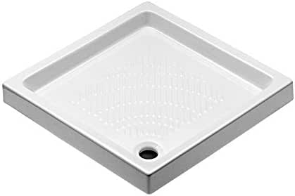 idrobric – Plato Ducha BASIC sin logo cuadrado cm 76 x 76 – sfucer0216pd: Amazon.es: Deportes y aire libre