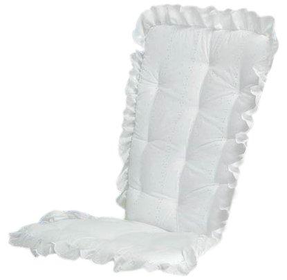 Baby Doll Bedding Carnation Eyelet Adult Rocking Chair Cushion Pad Set, ...