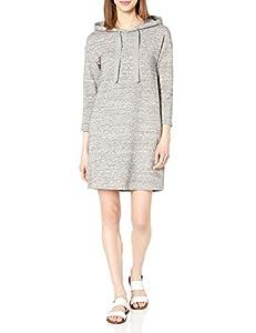 Amazon Brand - Daily Ritual Women's Terry Cotton and Modal Sweatshirt Dress